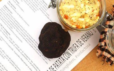 Ensalada prebiotica de patata con trufa de verano