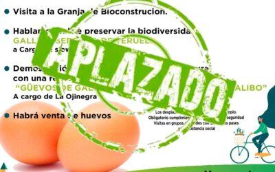 Agroexperiencia 25 de octubre con Huevos la Brizna, en Villel