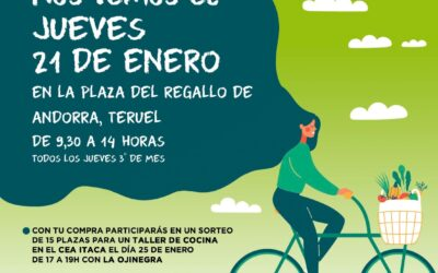 Mercado agroecológico local y norte Teruel 21 de enero 2021