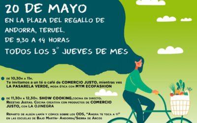 El 20 de mayo nueva edición del mercado agroecológico y local norte Teruel