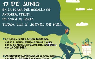 Mercado agroecológico y local norte Teruel 17 de junio de 2021