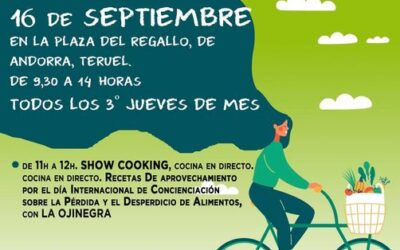 Mercado agroecológico y local norte Teruel 16 de septiembre de 2021